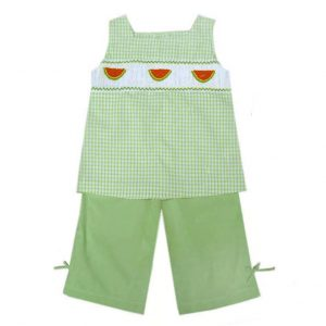 Watermelons Gingham Set