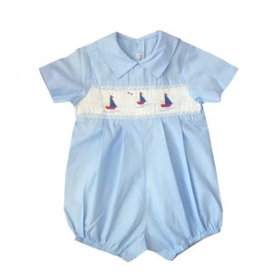 Smocked Sailboats Bubble