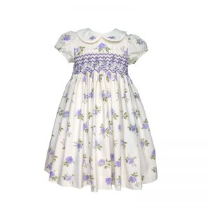 Lavender English Rose  Dress