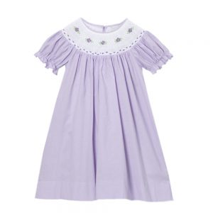 Lavender Bishop Dress