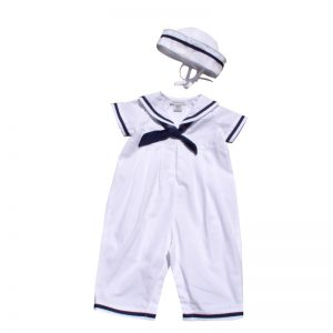 Sailor Romper & Hat