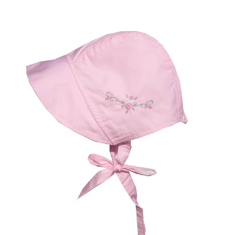 Pink Bowtie Bonnet