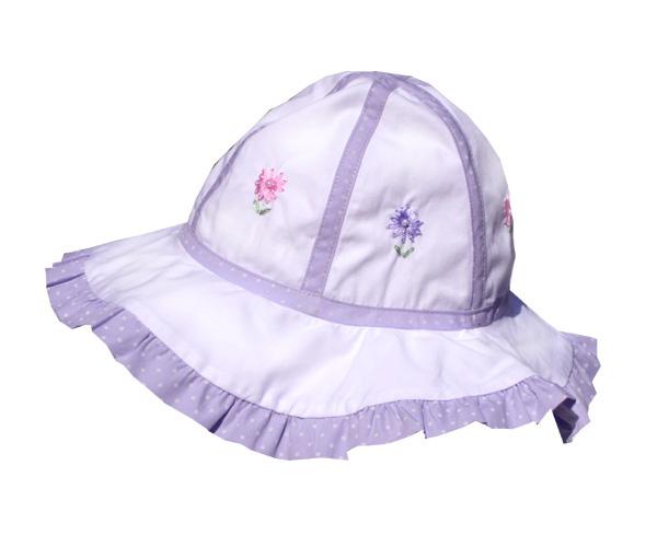Polka Dot Ruffle Hat