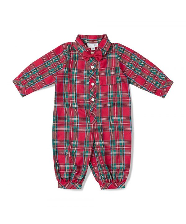 Children's hand-smocked Jon Jons from Fantaisie Kids