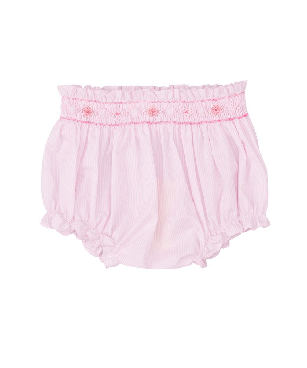 Smocked Pink Bloomers