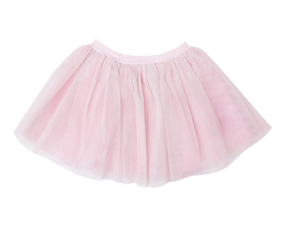 Blush Tulle Glitter Skirt
