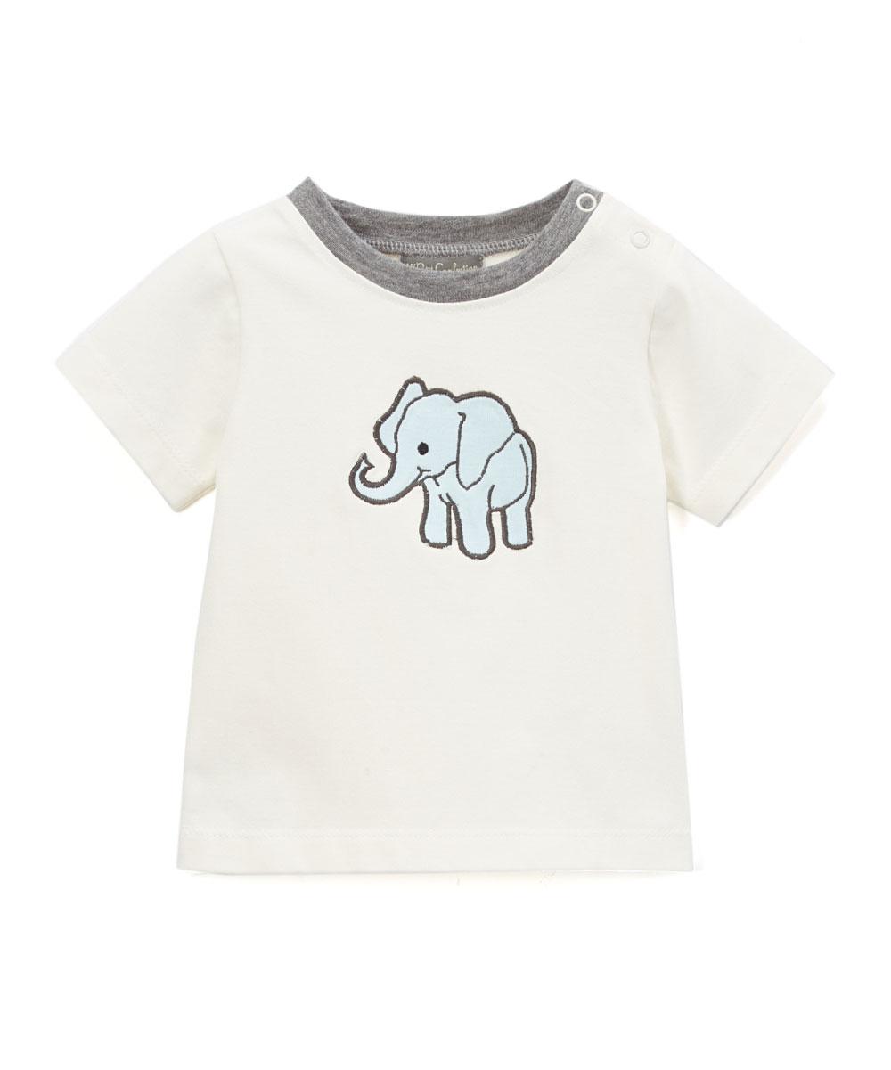 Ivory Elephant Tee