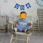 Light Blue Smocked  Sail Boat  Bubble photo review