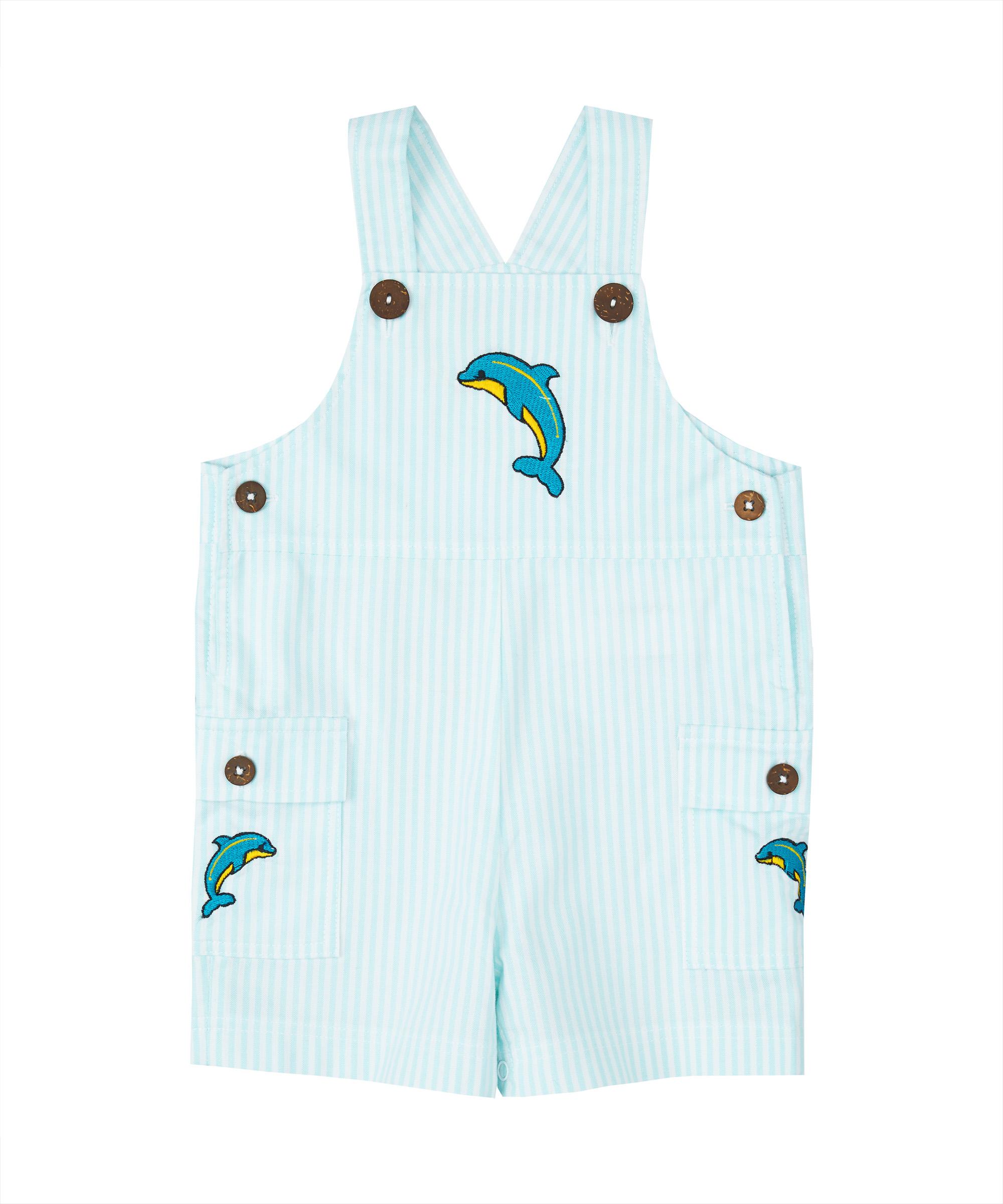 Aqua Dolphin Shortalls