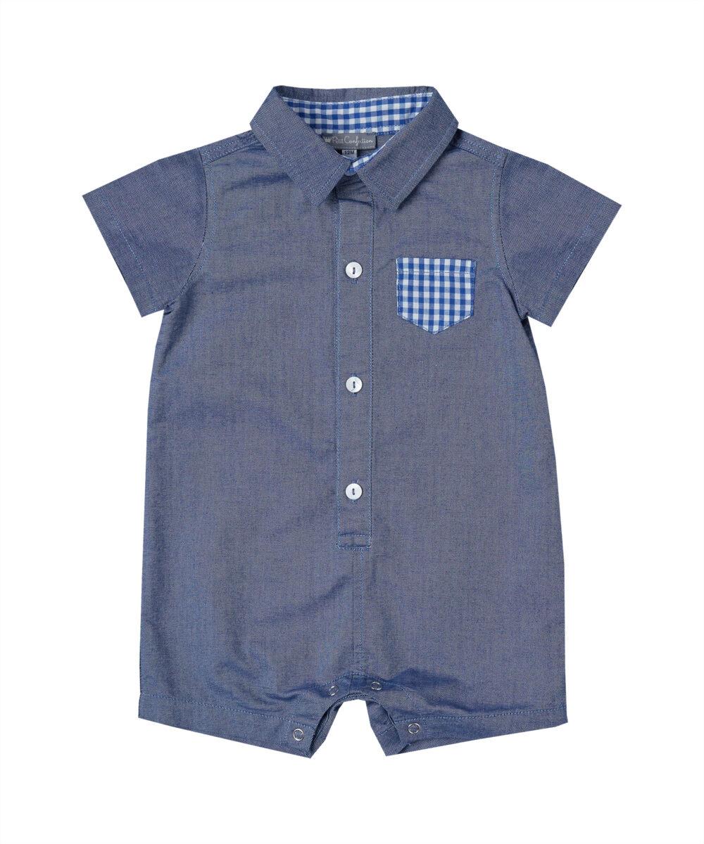 Blue Denim Shortalls